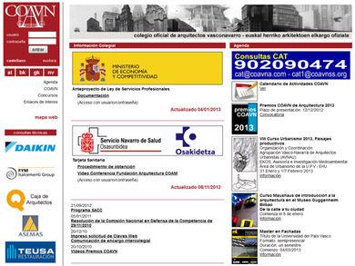Colegio Oficial de Arquitectos Vasco - Navarro