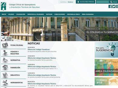 Colegio Oficial de Aparejadores y Arquitectos Técnicos de Gipuzkoa